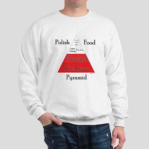 Polish Food Pyramid Sweatshirt