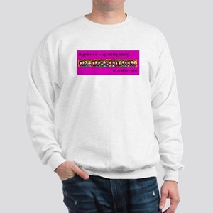 Sweatshirt. Happiness is a big family...