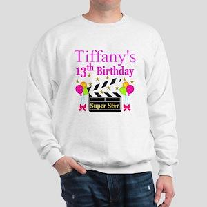 PERSONALIZED 13TH Sweatshirt