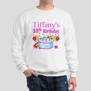 PERSONALIZED 18TH Sweatshirt