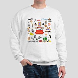 friendstv Collage Sweatshirt
