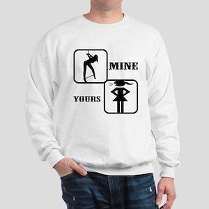 Your Girl vs Mine Sweatshirt