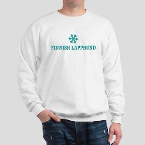 FINNISH LAPPHUND Snowflake Sweatshirt