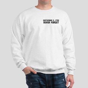 Never Forget Sweatshirt (Pocket Print)
