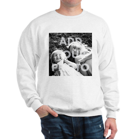 Add Your Photo Sweatshirt