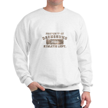 Personalized Dachshund Sweatshirt