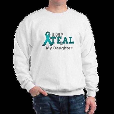 I wear Teal Sweatshirt