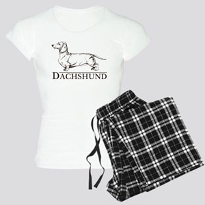 Dachshund Breed Type Women's Light Pajamas