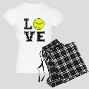 Love Softball Women's Light Pajamas