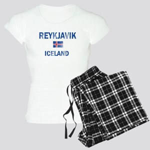 Reykjavik Iceland Designs Women's Light Pajamas