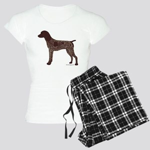German Shorthaired Pointer Women's Light Pajamas