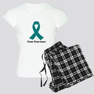 Teal Ribbon Awareness Women's Light Pajamas