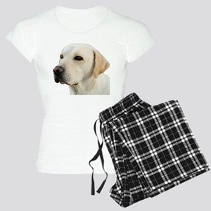 Yellow Lab Head Women's Light Pajamas