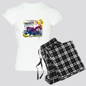 Taxi Change the Channel Women's Light Pajamas