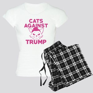 Cats Against Trump Women's Light Pajamas