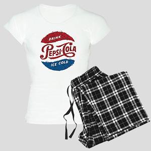 Pepsi Logo Doodle Women's Light Pajamas