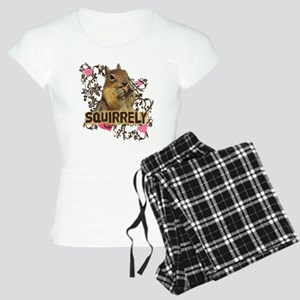 Squirrely Squirrel Lover Women's Light Pajamas