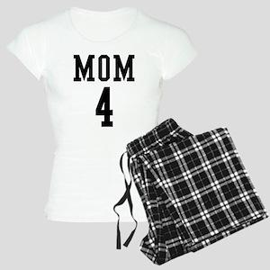 Mom of 4 Women's Light Pajamas
