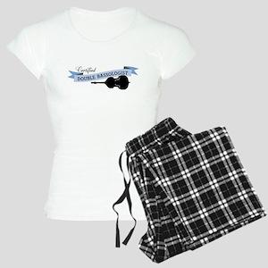 Double Bassologist Women's Light Pajamas