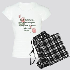 Beauty Poe Women's Light Pajamas