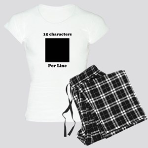 Your Picture Your Text Women's Light Pajamas