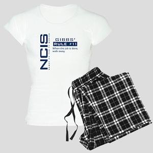 NCIS Gibbs' Rule #11 Women's Light Pajamas