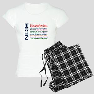 NCIS Quotes Women's Light Pajamas