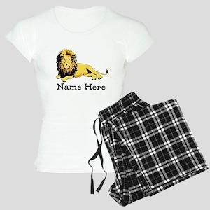 Personalized Lion Women's Light Pajamas