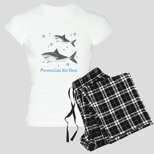 Personalized Shark Women's Light Pajamas
