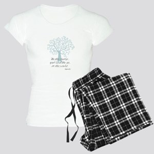 Be the Change Tree Pajamas
