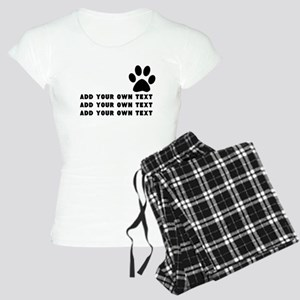 Dog's paw Women's Light Pajamas