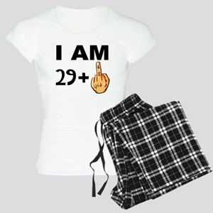 Middle Finger 30th Birthday Pajamas
