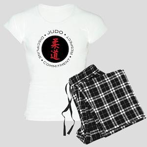 Judo Logo circle Women's Light Pajamas