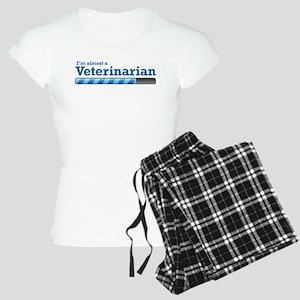 I'm almost a Veterinarian Women's Light Pajamas