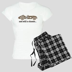 80th Birthday Classic Car Women's Light Pajamas