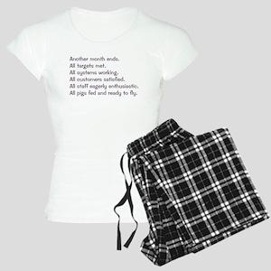 All Targets Met Women's Light Pajamas