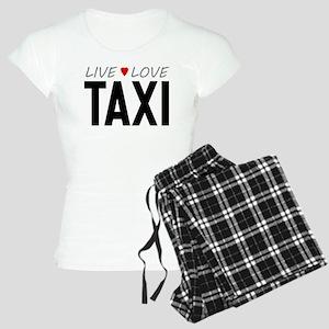 Live Love Taxi Women's Light Pajamas