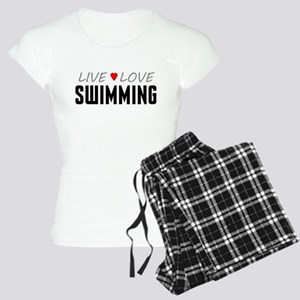 Live Love Swimming Women's Light Pajamas