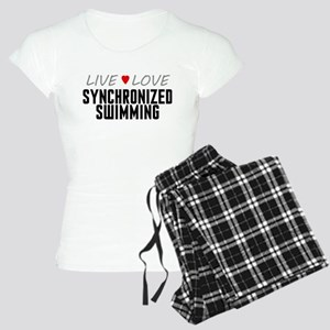 Live Love Synchronized Swimming Women's Light Paja