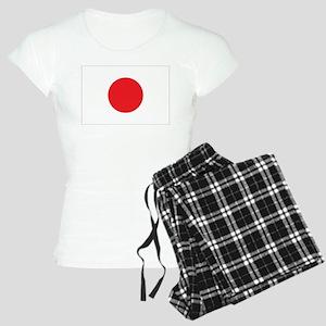 Japanese Flag Women's Light Pajamas