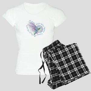 Hummingbird Heart Art Pajamas