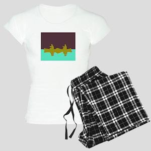 NIGHT SKY CANOE Women's Light Pajamas