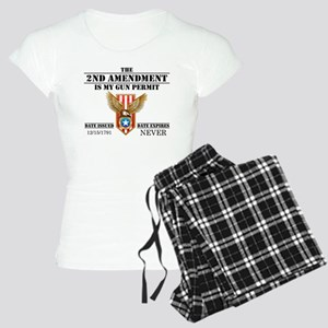 My Permit Women's Light Pajamas