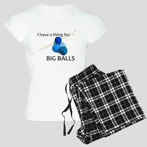 Knitting Gifts - Knitter Big Balls Pajamas