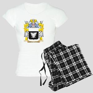 Bridgewater Coat of Arms - Family Crest Pajamas