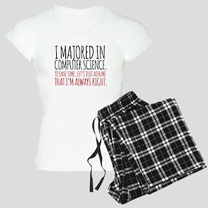 Computer Science Major Women's Light Pajamas