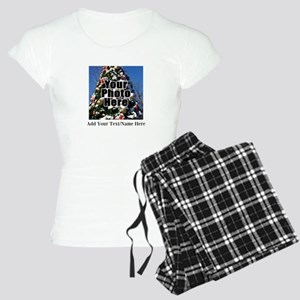 Custom Personalized Color Photo and Text Pajamas