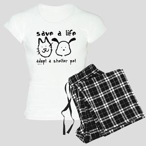 Save a Life - Adopt a Shelter Women's Light Pajama