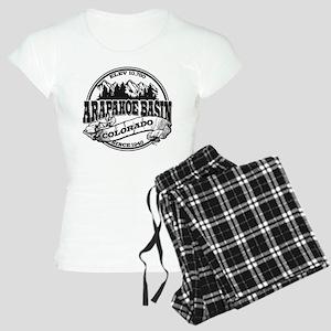 A-Basin Old Circle Black Women's Light Pajamas