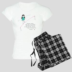 Its a Balancing Act Women's Light Pajamas